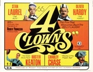 4 Clowns - Movie Poster (xs thumbnail)