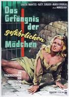 Cárcel de mujeres - German Movie Poster (xs thumbnail)