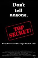 Top Secret - Theatrical movie poster (xs thumbnail)