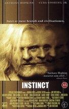 Instinct - Danish VHS cover (xs thumbnail)