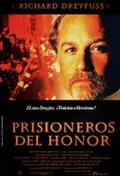 Prisoner of Honor - Spanish Movie Poster (xs thumbnail)