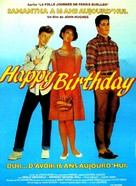 Sixteen Candles - French Movie Poster (xs thumbnail)