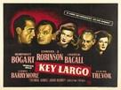 Key Largo - British Movie Poster (xs thumbnail)