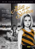 Alice in den Städten - German DVD movie cover (xs thumbnail)