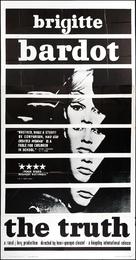 La vérité - Movie Poster (xs thumbnail)