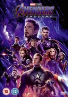 Avengers: Endgame - British DVD movie cover (xs thumbnail)