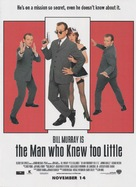 The Man Who Knew Too Little - Movie Poster (xs thumbnail)