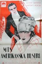 My American Wife - Swedish Movie Poster (xs thumbnail)