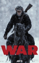 War for the Planet of the Apes - Teaser movie poster (xs thumbnail)