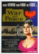 War and Peace - German Movie Poster (xs thumbnail)