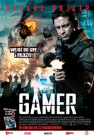Gamer - Polish Movie Poster (xs thumbnail)
