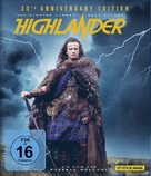 Highlander - German Movie Cover (xs thumbnail)