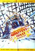 Runaway Train - Hungarian Movie Poster (xs thumbnail)