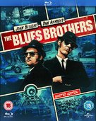 The Blues Brothers - British Blu-Ray movie cover (xs thumbnail)