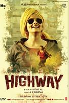 Highway - Indian Movie Poster (xs thumbnail)