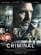 Criminal - French Movie Poster (xs thumbnail)
