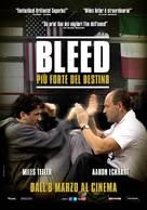 Bleed for This - Italian Movie Poster (xs thumbnail)