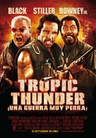 Tropic Thunder - Spanish Movie Poster (xs thumbnail)