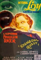 Stamboul Quest - French Movie Poster (xs thumbnail)