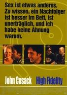 High Fidelity - German Movie Poster (xs thumbnail)