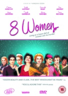 8 femmes - British DVD cover (xs thumbnail)