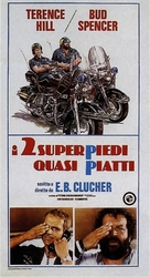 I due superpiedi quasi piatti - Italian Movie Poster (xs thumbnail)