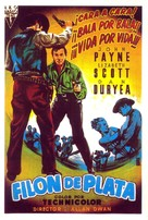 Silver Lode - Spanish Movie Poster (xs thumbnail)