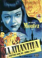 Siren of Atlantis - Spanish Movie Poster (xs thumbnail)