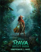 Raya and the Last Dragon - Norwegian Movie Poster (xs thumbnail)
