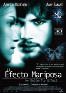 The Butterfly Effect - Spanish Movie Poster (xs thumbnail)