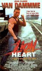 Lionheart - Danish VHS movie cover (xs thumbnail)