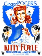 Kitty Foyle: The Natural History of a Woman - French Movie Poster (xs thumbnail)