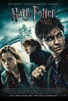 Harry Potter and the Deathly Hallows: Part I - German Video release poster (xs thumbnail)