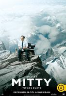 The Secret Life of Walter Mitty - Hungarian Movie Poster (xs thumbnail)