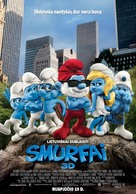 The Smurfs - Lithuanian Movie Poster (xs thumbnail)