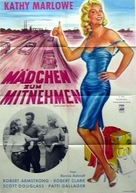 Girl with an Itch - German Movie Poster (xs thumbnail)