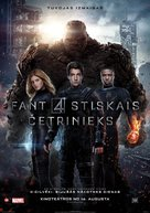 Fantastic Four - Latvian Movie Poster (xs thumbnail)