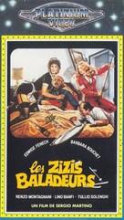 La moglie in vacanza... l'amante in città - French VHS movie cover (xs thumbnail)