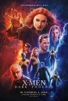 Dark Phoenix - Malaysian Movie Poster (xs thumbnail)
