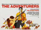 The Adventurers - British Movie Poster (xs thumbnail)