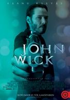 John Wick - Hungarian Movie Poster (xs thumbnail)