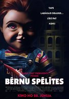 Child's Play - Latvian Movie Poster (xs thumbnail)