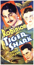 Tiger Shark - Movie Poster (xs thumbnail)