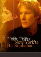 Autumn in New York - Turkish Movie Cover (xs thumbnail)