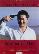 Sonatine - Italian DVD cover (xs thumbnail)