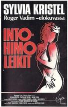 Une femme fidèle - Finnish VHS movie cover (xs thumbnail)