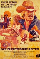 The Electric Horseman - German Movie Poster (xs thumbnail)