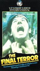 The Final Terror - Dutch VHS movie cover (xs thumbnail)