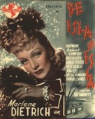 Seven Sinners - Spanish Movie Poster (xs thumbnail)