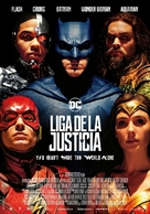 Justice League - Spanish Movie Poster (xs thumbnail)